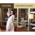 Unisex 100% Cotton Lightweight Waffle Weave Spa Hotel Robe Sleepwear