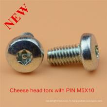 Cheese Head Torx Pin Screw Safety Screw