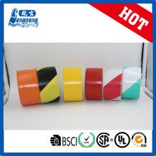 Double couleur PVC barrière risque évitable ruban