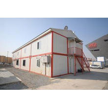 Portable Prefab Shipping Container Homes With PVC Sliding W