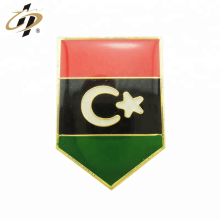 Custom metal gold Kuwait flag resin enamel lapel pin