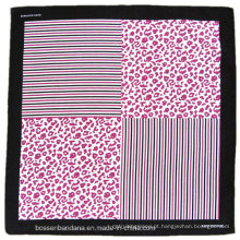 OEM Produce personalizado logotipo impresso promocionais algodão bandana lenço