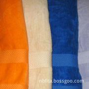 100% cotton dobby towels, various colors are available