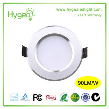UL CE SAA DLC ROHS approved 3w 5w 7w 10w 15w 20w 25w led downlight with high quality