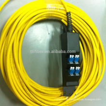 8 Ports LC Pre-terminated Fiber Adapter Panel mit Faser Pigtail