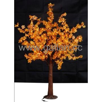 Fábrica Venda LED Artificial Mapletree 43W com Amarelo e Vermelho