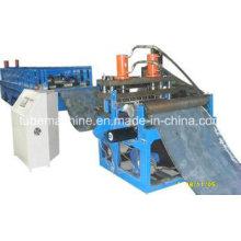 Máquina formadora de rollos de techo y Máquina formadora de rollos sin columnas y sin viraje