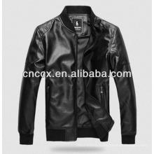 14PUJ8007 мужчины PU куртка
