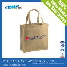 Sacs d'emballage féminins avec sacs fourre-tout en polypropylène non tissés de haute qualité