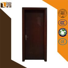 Presse à membrane pvc réglable à charnière, conception de porte principale unique en bois, portes en pvc