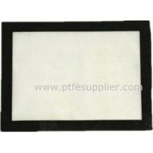 Estera antiadherente de la hornada del silicón y de la fibra de vidrio de la categoría alimenticia