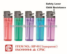 disposable flint lighter with ISO9994 , CPSC and EN13869