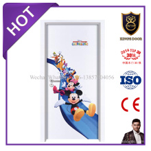 Меламин кожи двери прессформы деревянная с дешевые цены на детские комнаты