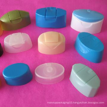 Plastic Flip Top Cap for Shampoo Bottle