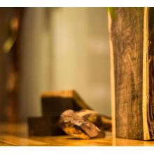 Sandalwood essential oil in the bedroom