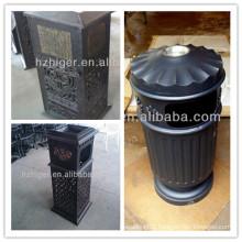 Aluminium Street Waste Bin