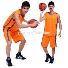 Uniforme 100% do basquetebol da malha da melhor qualidade do poliéster / jérsei de basquetebol