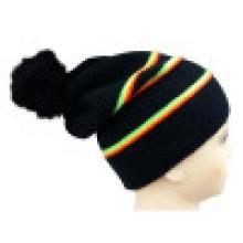 Bonnet tricoté avec POM POM NTD1650