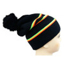 Knitted Beanie with POM POM NTD1650