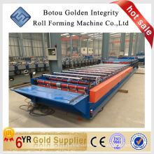 Beliebte Metall-Dach-Blatt-Walze Formmaschine, Metall-Fliesen-Maschine