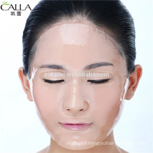 OEM Hyaluronic acid transparent HA face mask