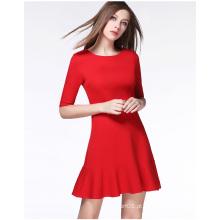 2016 atacado moda casual vestido vestido de verão para senhoras
