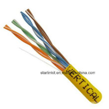 China Made Factory Price UTP Cat5e LAN Cable 1000FT Yellow