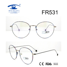 Korea Style Round Slim Metal Optical Frame (FR531)
