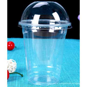 Copo plástico do animal de estimação 12oz para o suco
