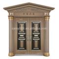 hot sell steel men door design villa main door with hinge