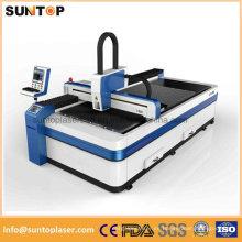 Máquina de corte del laser de la fibra del precio barato para el corte del acero inoxidable / corte del laser del metal