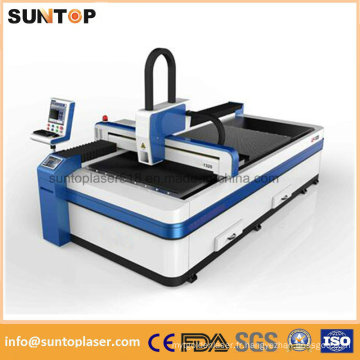 Machine à découper au laser à prix bon marché pour coupe à l'acier inoxydable / découpe au laser en métal