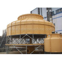 800t High Efficient Low Noise Round Cooling Tower