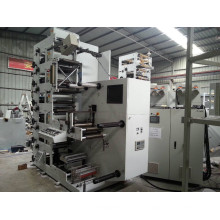 Flexographische 6 Farbdruckmaschine