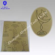 Papier abrasif imperméable électro-enduit de carbure de silicium de carbure