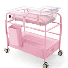Pink Baby Trolley with Glove Box and Drawer