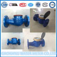 Iron Material Flange Connection Water Flow Meters