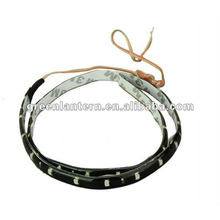 30cm three core 5050 SMD Car LED strip light LED flexible Light 15 SMD LED White Light Bulbs Lamp Car House