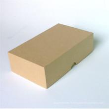 Nouvelle boîte d'emballage de papier de carton fait sur commande de conception