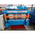 Customized Glazed Corrugated Double Deck Forming Machine