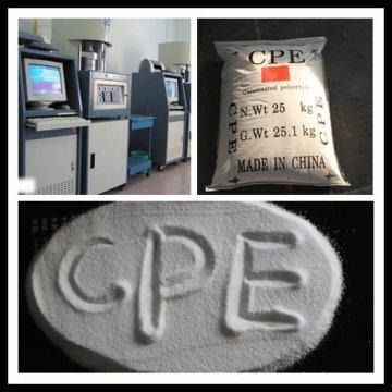 Polyéthylène chloré (CPE) pour tuyau en PVC
