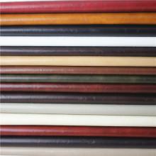 Semi couro material amarrotado material da mobília do sofá do falso da pele do plutônio