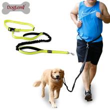 Correa para perro de 6 pies con correa ajustable Correa para perro elástico reflectante