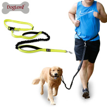 6 Ft Handsfree Dog Running Leash Reflective Elastic Dog Leash Rope