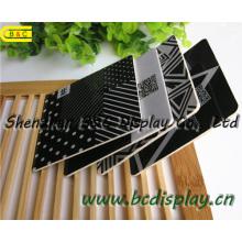 Prácticos de costa de papel absorbentes cuadrados de alta calidad Wit 4c que imprimen en ambos lados, prácticos de costa de la cerveza (B & C-G106)