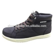 novos calçados casuais masculinos barato couro pu sapatos de cimento frio