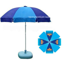 Beautiful Logo Printing Outdoor Beach Umbrella