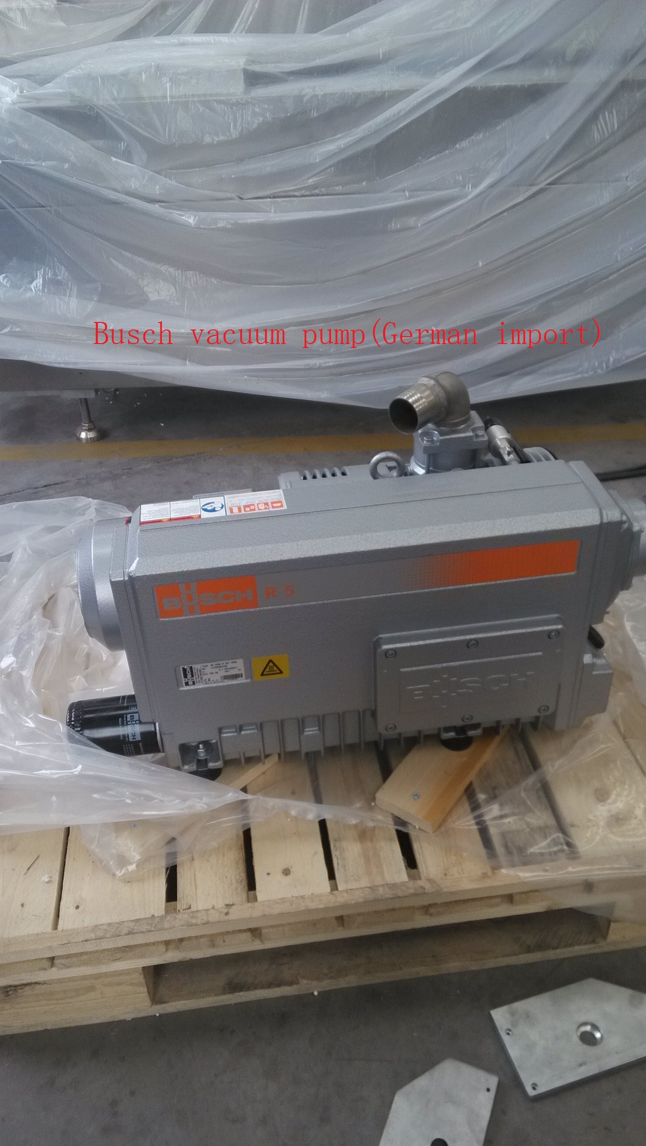 Security Guard Continuous Type Packing Machine
