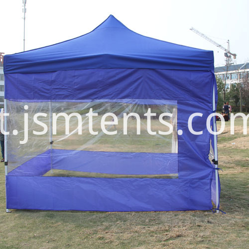 Folding up Gazebo Tents Blue color