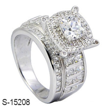 New Model 925 Sterling Silver Diamond Ring Jewelry